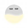 Lampka Nocna LED z USB V-TAC SAMSUNG CHIP Okrągła 4000K VT-84