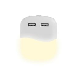 Lampka Nocna LED z USB V-TAC SAMSUNG CHIP Kwadratowa 4000K VT-84