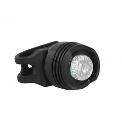LTC Lampka rowerowa przednia LED 1W z opaską silikonową