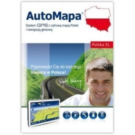 AutoMapa Polska XL - nowa licencja wersja elektroniczna