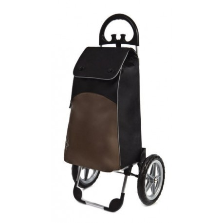Aurora - wózek zakupowy VIENNA z izotorbą (duże koła)