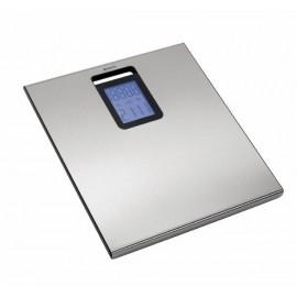 Brabantia, waga łazienkowa ze stali nierdzewnej z zegarem