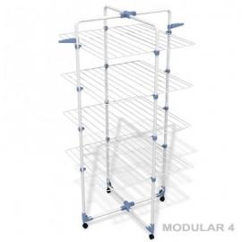 GIMI MODULAR 4 - duża stojąca suszarka do bielizny, kabinowa, łazienkowa, balkonowa 40mb