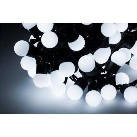 Diodowe, LED, lampki choinkowe ozdobne zewnętrzne, białe- 20mb