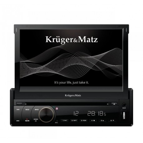 radio samochodowe kruger matz 1din 7 z tunerem dvb t gps bt. Black Bedroom Furniture Sets. Home Design Ideas