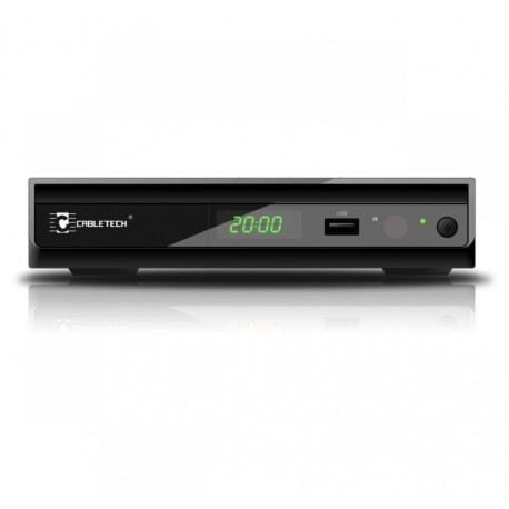 CABLETECH Tuner STB DVB-T HD do telewizji cyfrowej MPEG-4 URZ0083q