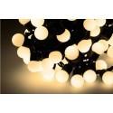 Diodowe, LED, lampki choinkowe ozdobne, białe ciepłe - 10mb
