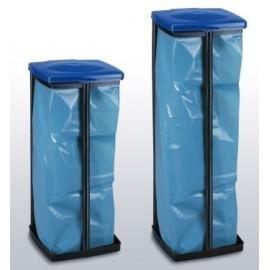 Quadra 120 - niebieski stojak na worki o pojemności od 30 do 120l
