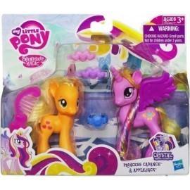 My Little Pony, księżniczka Cadance i przyjaciółka Applejack