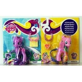 My Little Pony, 2 kucyki, księżniczka Twilight Sparkle i Ploomette