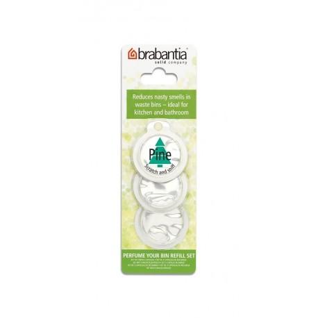Brabantia Perfume Your Bin, 3 wkłady wymienne o zapachu sosnowym