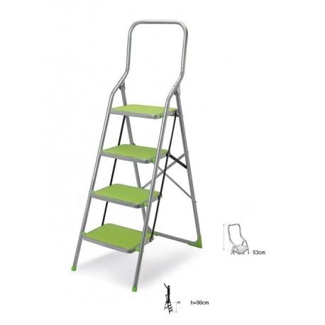 CASABRIKO, GRIP STEP 4 - drabina stalowa lakierowana 4 stopniowa