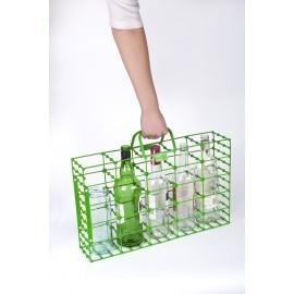 Ecorack - stojak / nosidło do segregacji pustych opakowań szklanych