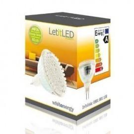 Żarówka 60 LED, ciepły biały. 12V, 3W