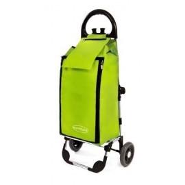 Aurora - FREEZER CLICK, składany wózek na zakupy z izotorbą i aluminiowym stelażem
