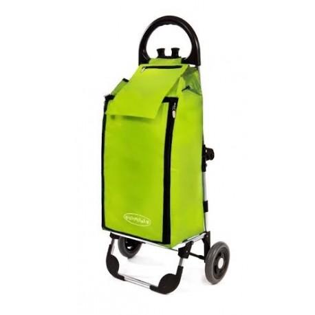 Aurora - FREZER wózek na zakupy z izotorbą i aluminiowym stelażem