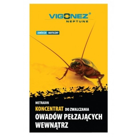 VIGONEZ - Koncentrat do zwalczania owadów pełzających w pom. zamkniętych, 5ml