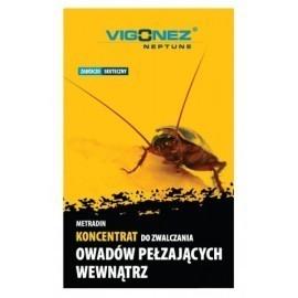 VIGONEZ - Koncentrat do zwalczania owadów pełzających prusaków, karaluchów itp w domu 30ml