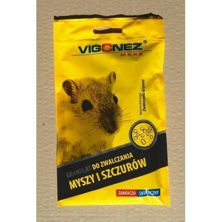 VIGONEZ - Granulat do zwalczania myszy i szczurów 75gr