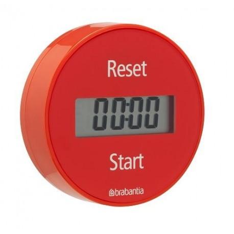 Brabantia 103704 - Timer magnetyczny, minutnik czerwony