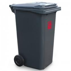 Contenur - pojemnik plastikowy 2-kołowy 240l na odpady komunalne