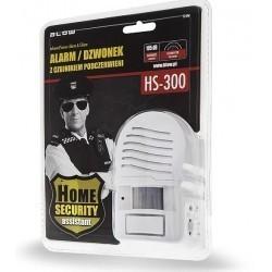 Alarm, dzwonek z czujnikiem podczerwieni BLOW HS-300