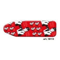 Pokrowiec czerwony z nadrukiem na deskę do prasowania BIG CLASSIC FASHION - Casabriko