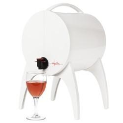 WinyBar 5l biały stojak na sok, wino lub inne napoje