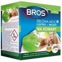 Zielona moc Elektro + 10 wkładów na komary BROS
