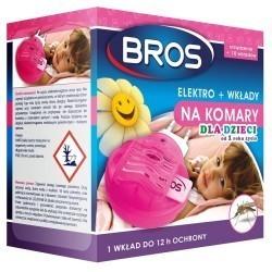 Sensitive Elektro urządzenie + 10 wkładów na komary rekomendacja dla dzieci BROS