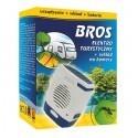 Urządzenie elektro turystyczne + wkład na komary i baterie, BROS