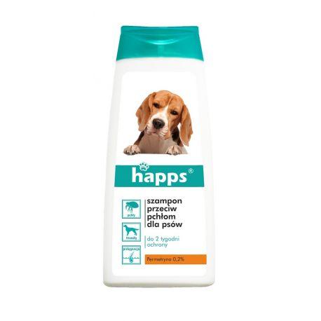 Szampon przeciw pchłom dla psów, 150ml HAPPS