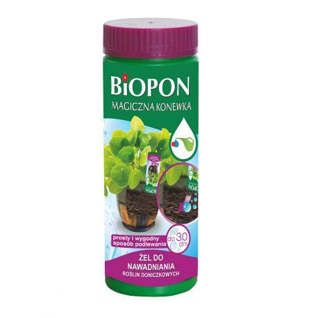 Magiczna konewka, żel nawadniający rośliny doniczkowe BIOPON