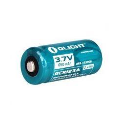 Olight Litowo jonowy akumulator 3,7V RCR123A 650 mAh 2,4Wh
