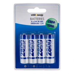 Akumulatory Whitenergy 2800 mAh (R6 - AA) - 4 szt