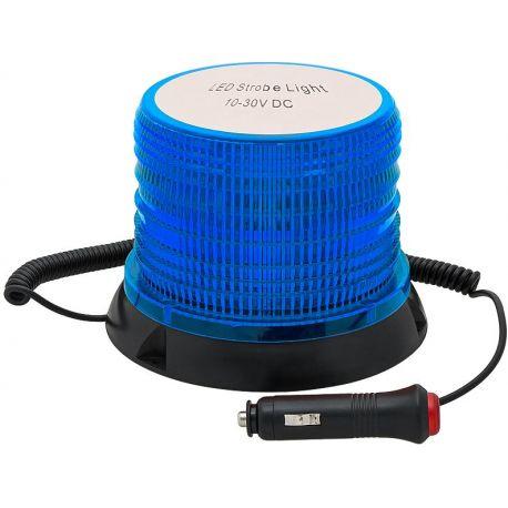 Samochodowa lampa ostrzegawcza LED 12V-24V NIEBIESKA
