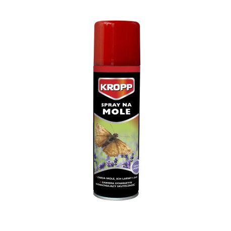 Spray na mole i ich larwy, podwyższona skuteczność, zapach lawendy KROPP