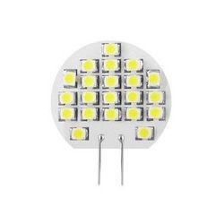 Żarówka 21 SMD LED, ciepły biały. 12V, 1.2W