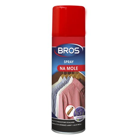 BROS Spray na mole jaja larwy 150 ml