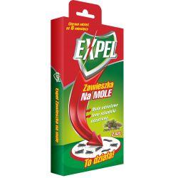 Zawieszka na mole o zapachu cedru - 2szt EXPEL