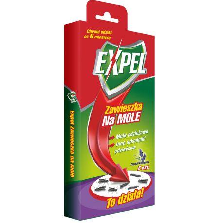 Zawieszka na mole o zapachu lawendowym - 2szt EXPEL