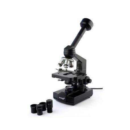 Biologiczny laboratoryjny mikroskop cyfrowy Levenhuk D320L