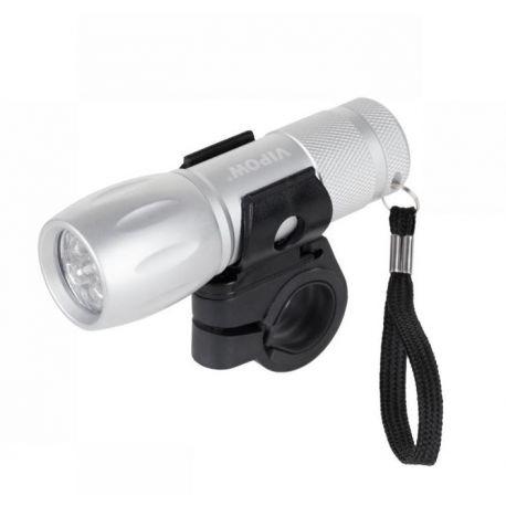 Lampa rowerowa przednia lub latarka LED VIPOW urz0016