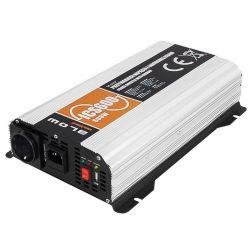 BLOW Przetwornica SINUS 12V/230V 600W z prostownikiem 10A