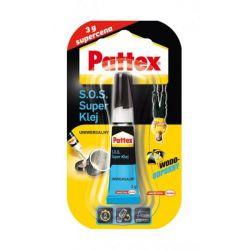 PATTEX S.O.S Super klej uniwersalny wodoodporny, 3g