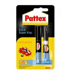 PATTEX S.O.S. Super Klej do plastiku