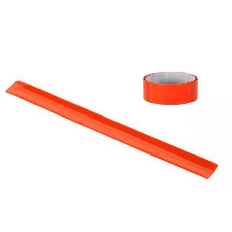 Opaska odblaskowa na rękę, pomarańczowa 40cm