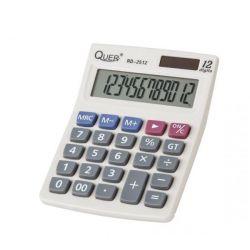 Kalkulator RD-2512 Quer, mały podręczny do domu lub biura.