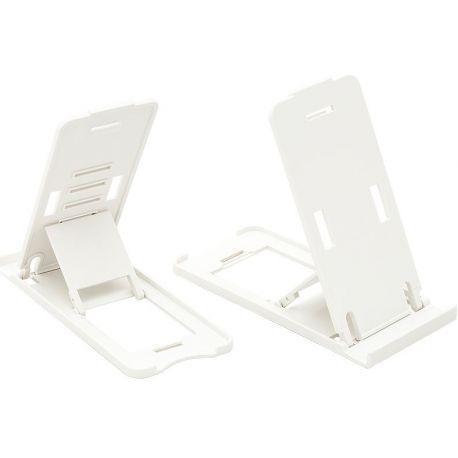 Podstawka pod telefon uniwersalna składana - biała