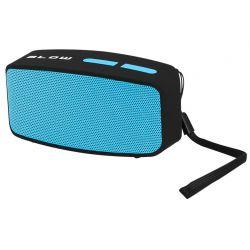 Głośnik przenośny z wbudowanym radiem FM, bluetooth BT150 czarny BLOW